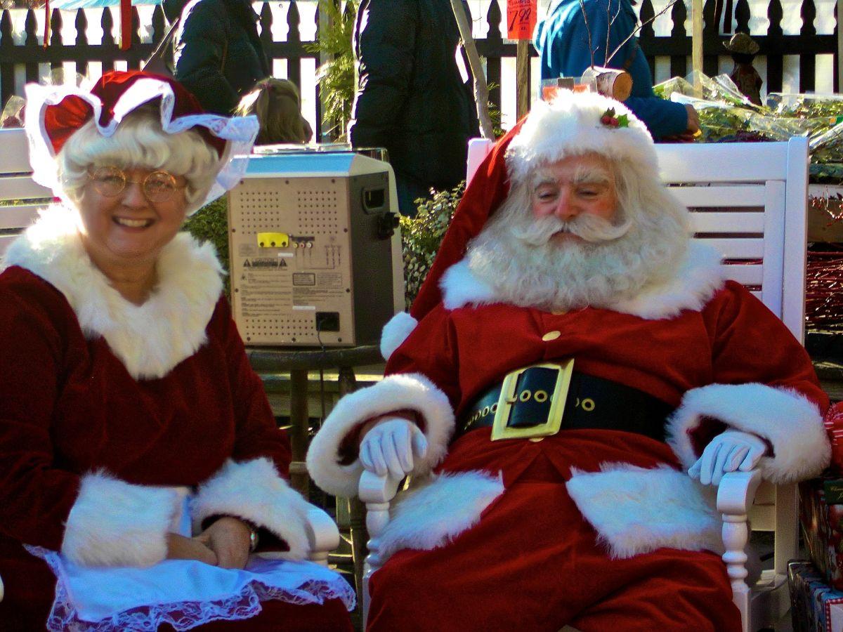 At the Christmas Tree lot 12/14