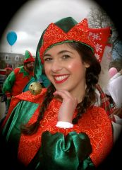 Victoria,Best Elf at Northeast Santa's 2015