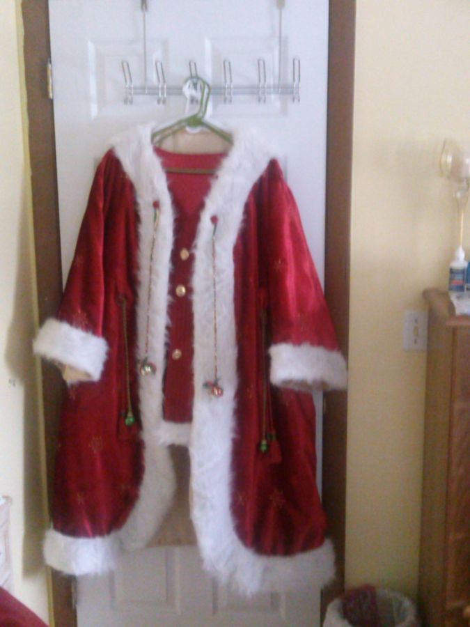 New look for the Kringeville Santa Claus