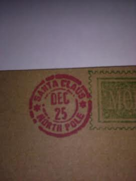 North Pole Post Office Cancellation Mark