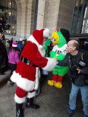 Santa & Parrot