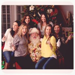 Santa And The ladies  2