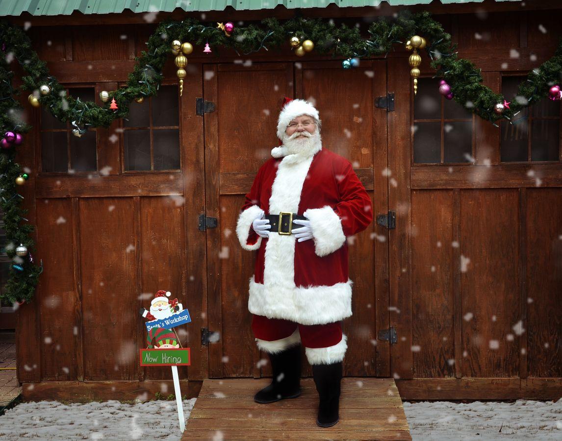 Santa Bob and his buddies