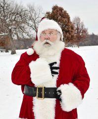 Santa going down