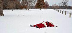 santa down