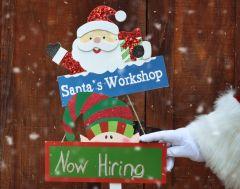 Santa is hiring!