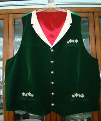 Morgan's vest front