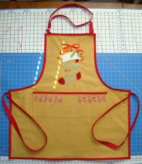 apron Red trim