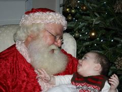 Santa and a new believer...