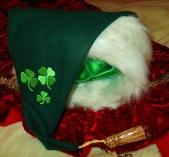 Santa's St. Patrick's Day Casual Hat.