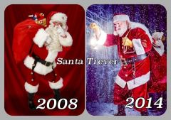 Santa Trever ~ Then & Now