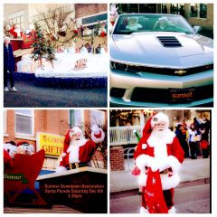 City of Sumner Downtown Santa Parade