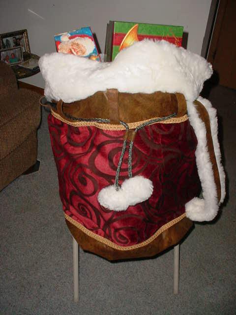 Transporter Santa Bag