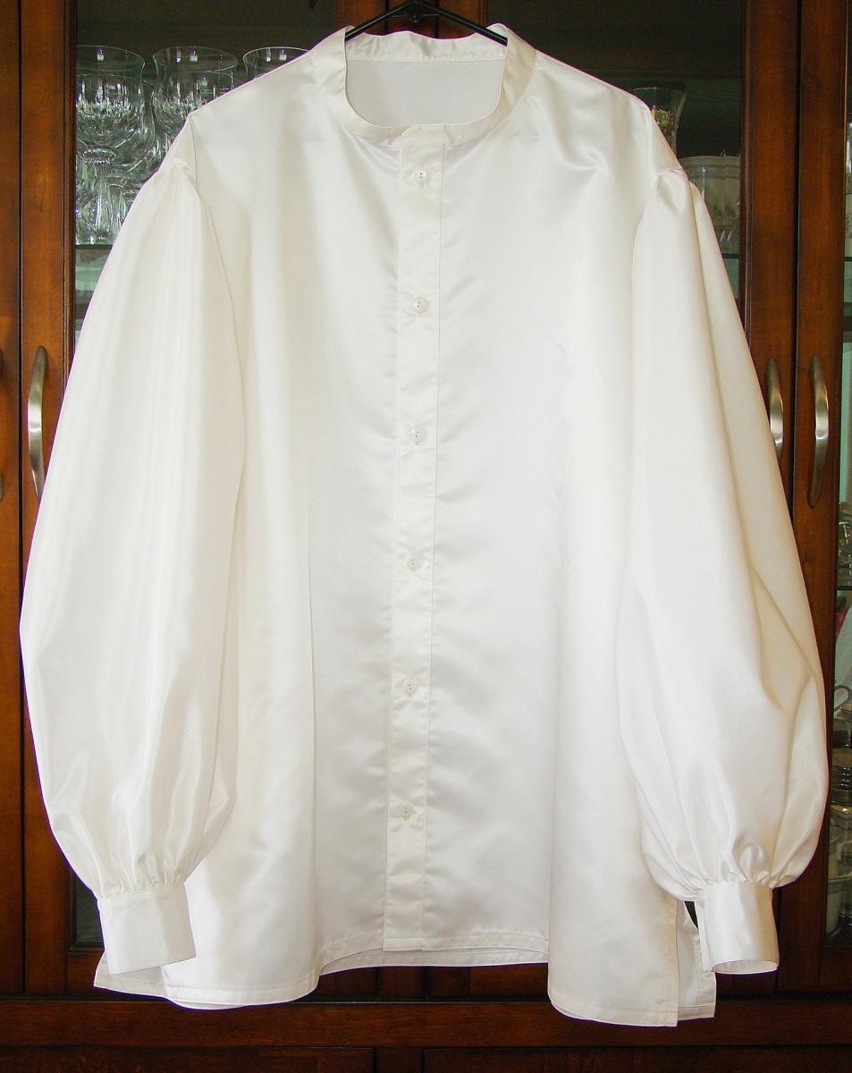 Santa Danny's Ivory Puffy Shirt