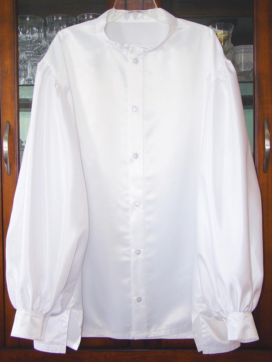Santa Danny's White Puffy Shirt