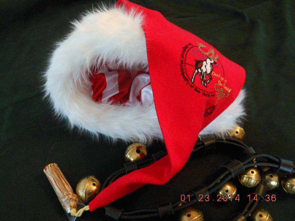 RMNP logo  Santa hat