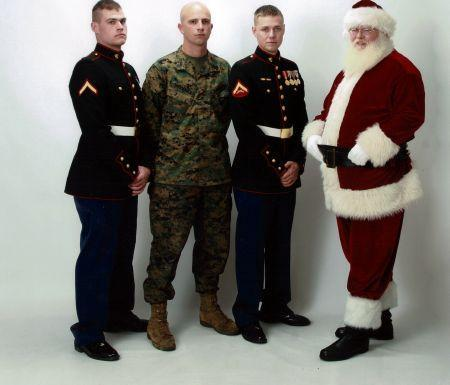 Santa & Marines  Toy\'s For Tots_1.jpg