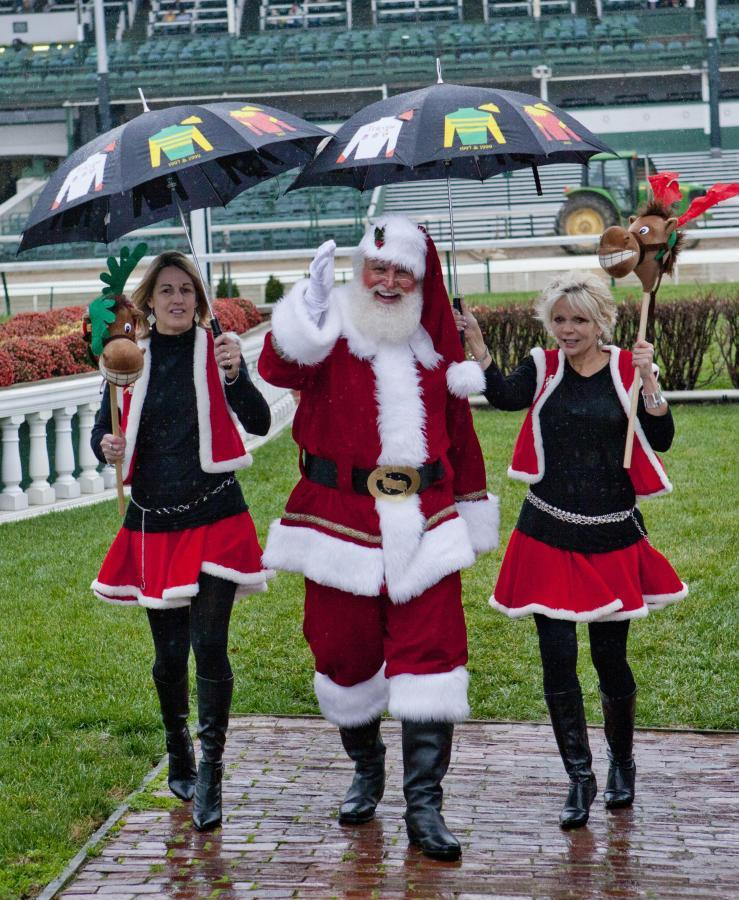 Santa & His Elves @ Churchill Downs