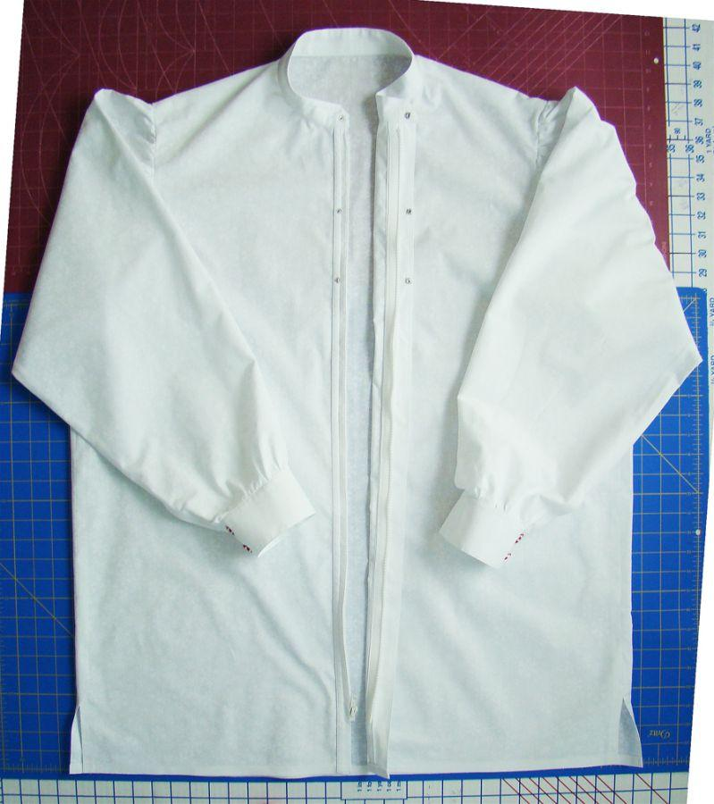 showing zipper