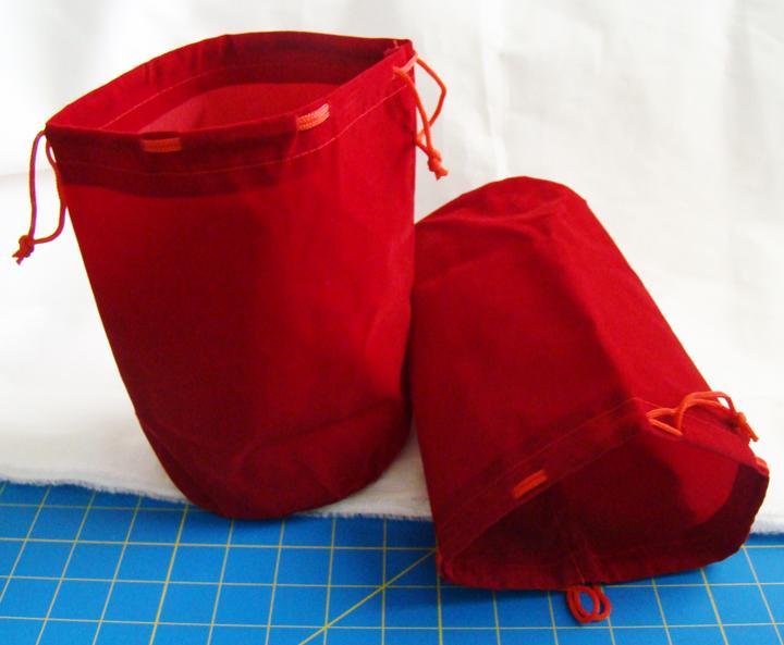 Small Velveteen Bags