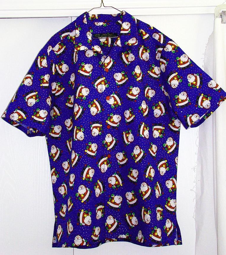 Hawaiian Shirt for SA Santa Jim
