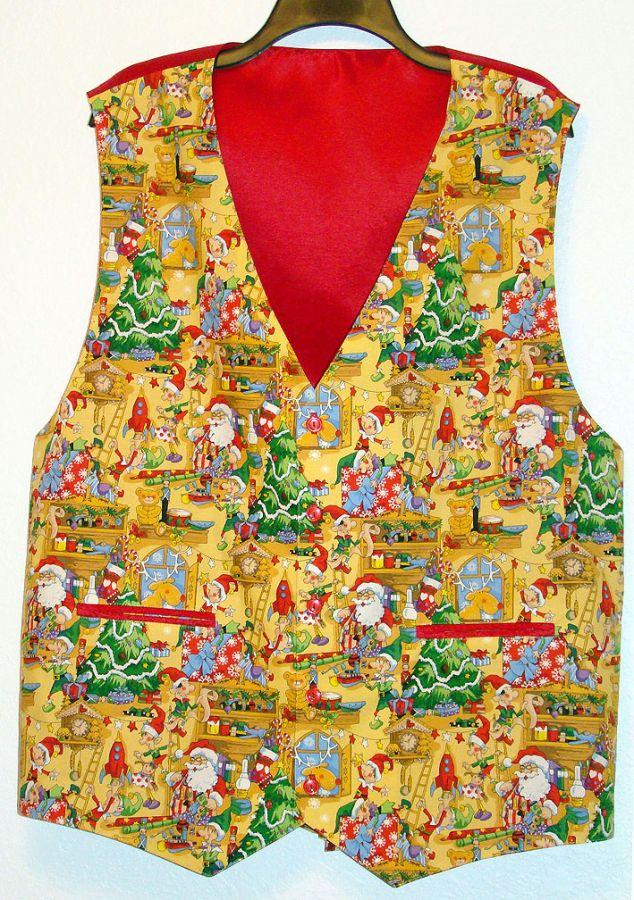 workshop santa vest