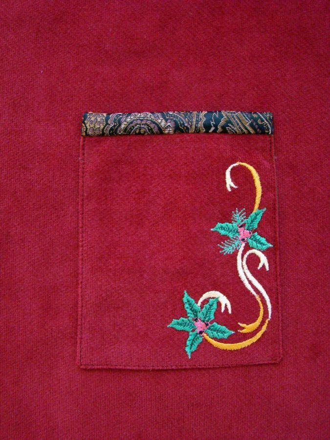 vest pocket detail