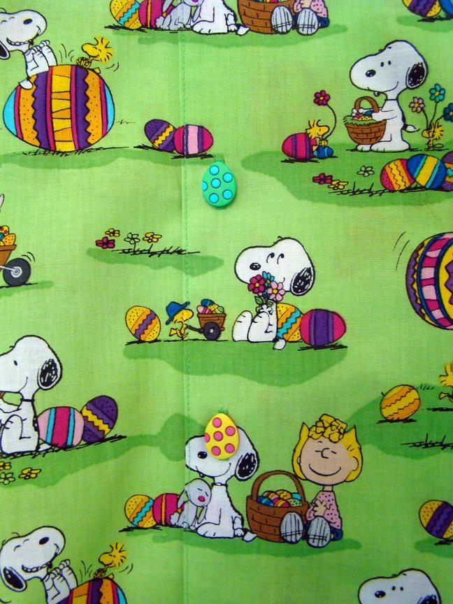 Easter Hawaiian Shirt Closeup