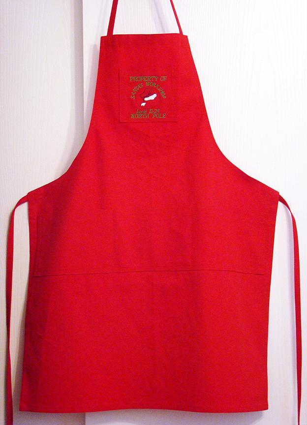 Santa's Workshop Apron (or cooking one too!)