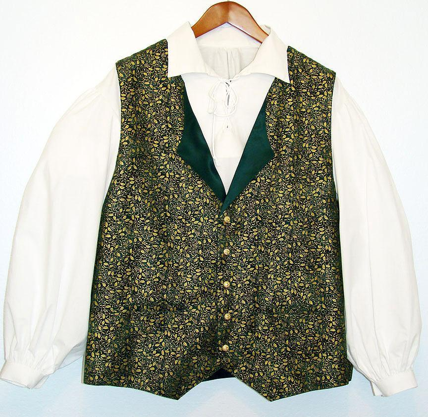 My Kid's Santa - Mitch Allen's New Vest and Puffy Sleeve Shirt