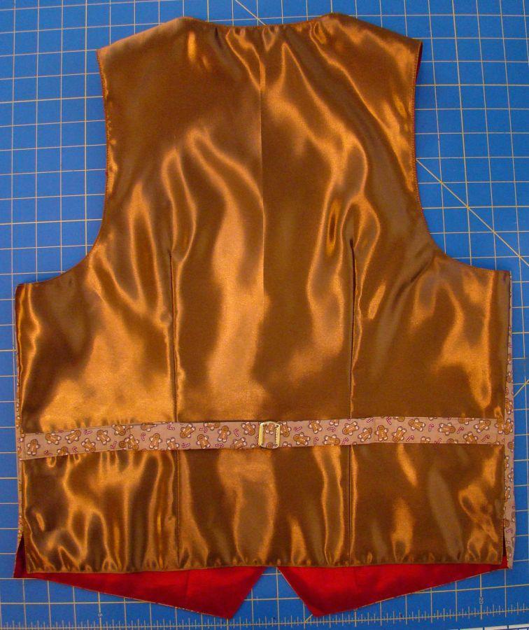 Mariah's vest back