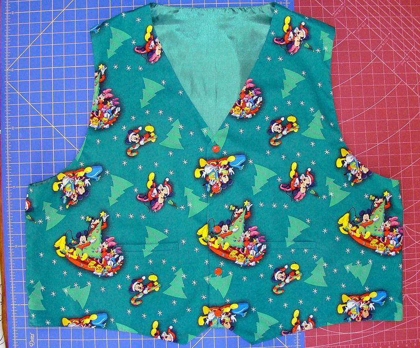 Mickey and the Gang Christmas Vest