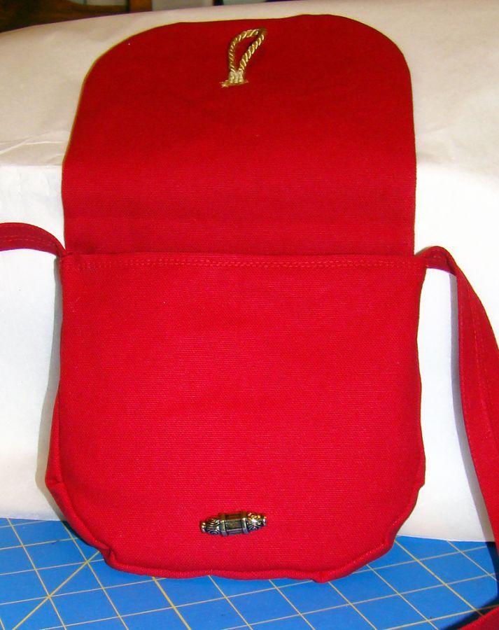 Sporran bag for a Claus Clan Member