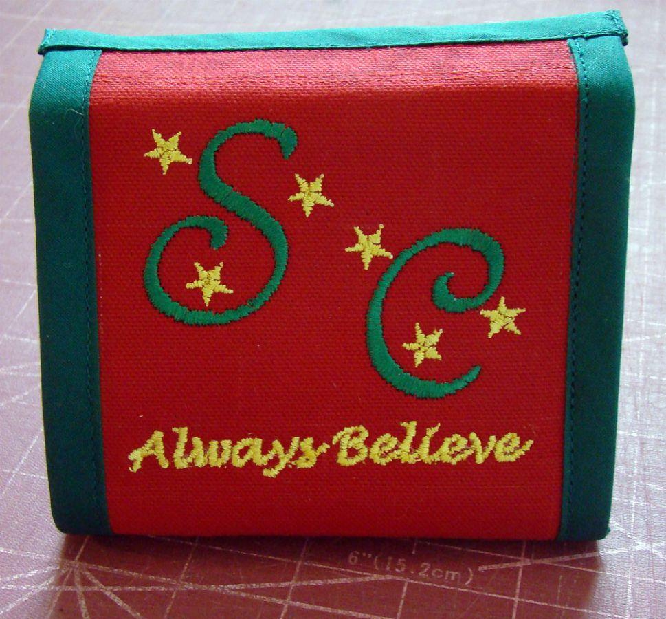 wallet Santa Charlie