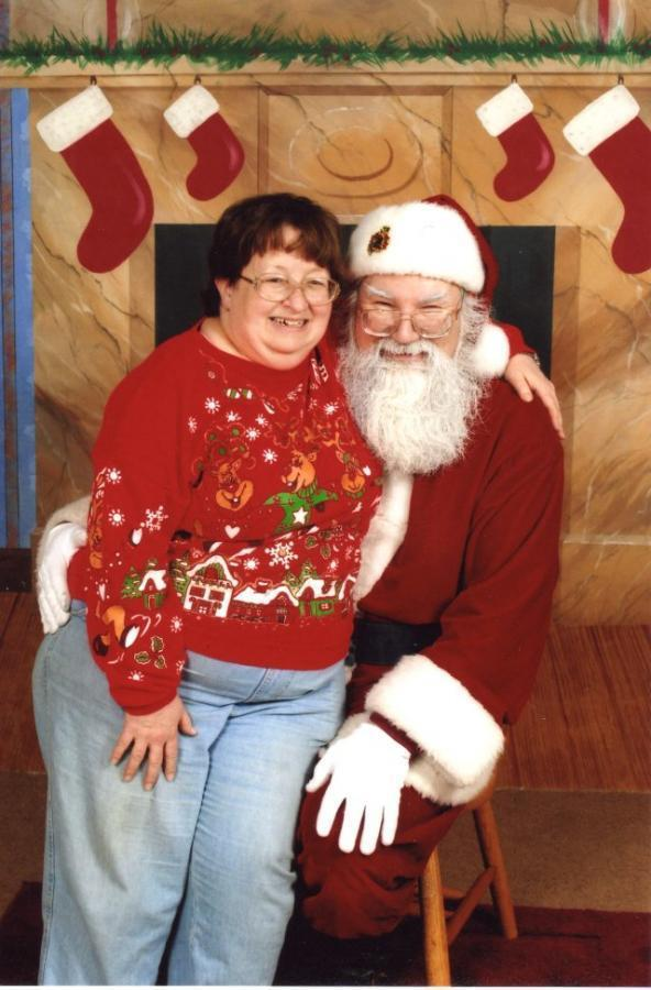 Santa and wife