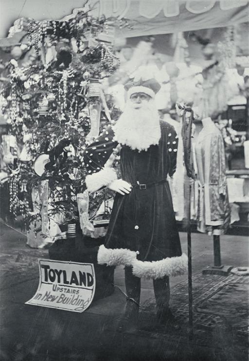 Santa in New Zealand 1930