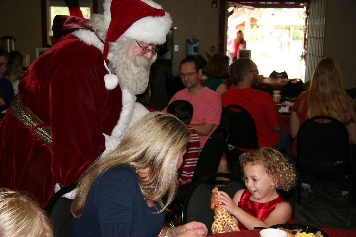 Breakfast with Santa 2013