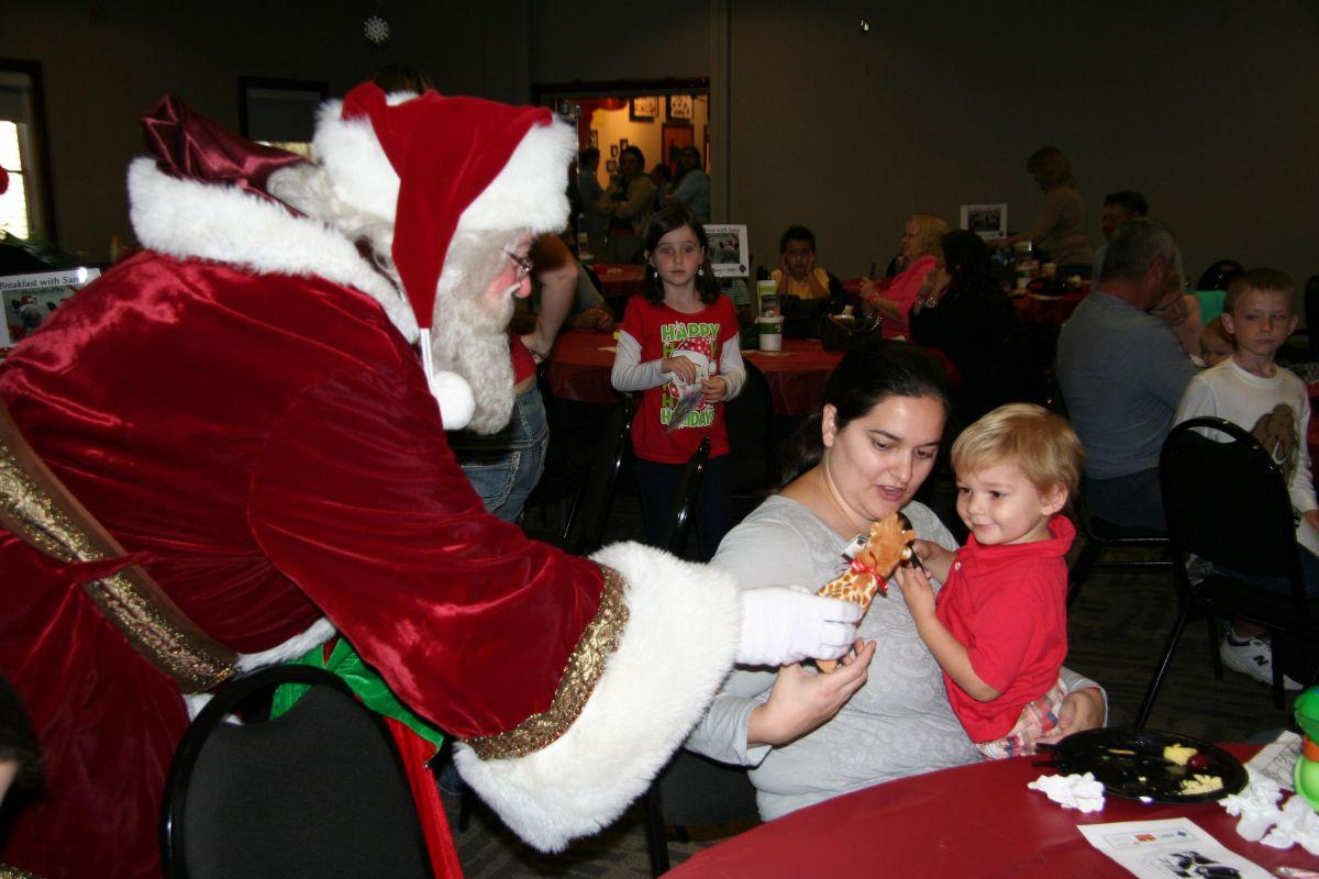 Breakfast with Santa 2013