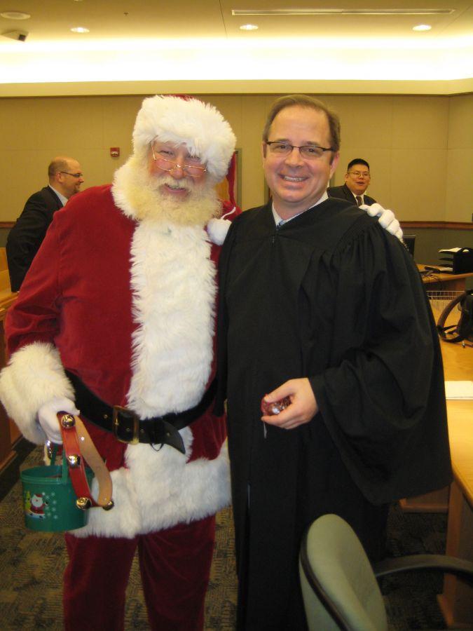 santa And judge!