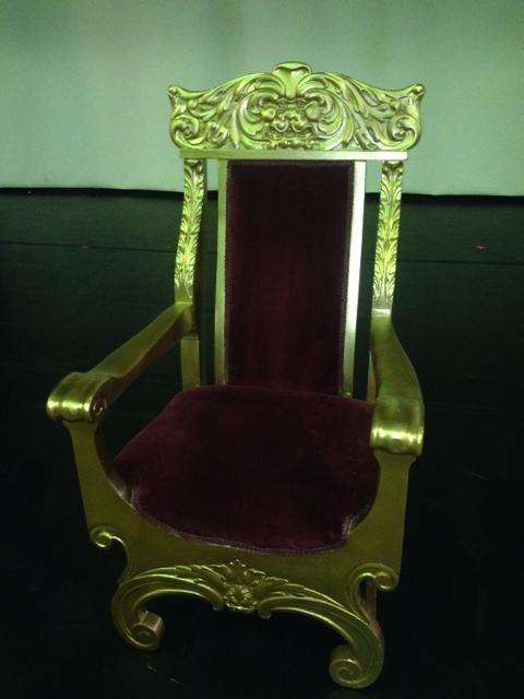 Santa Throne Hi angle