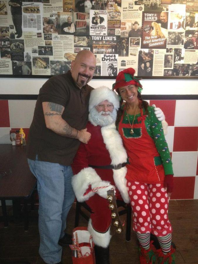 Christmas 2011 Tony Luke's