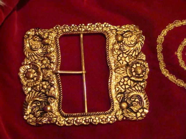Ornate Santa Buckle Pictures