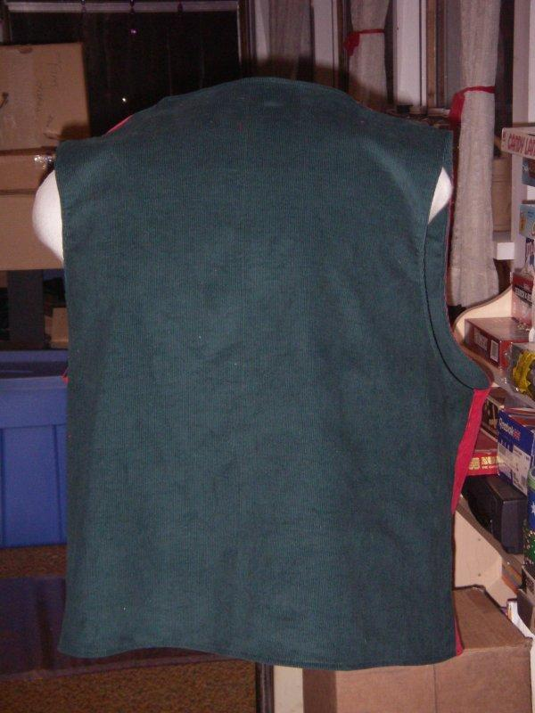 Both vest backs
