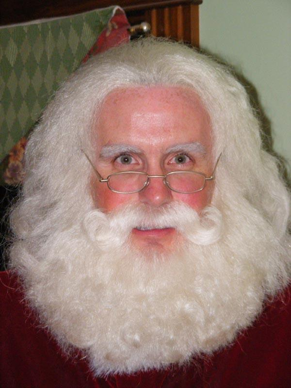 Santa sans hat