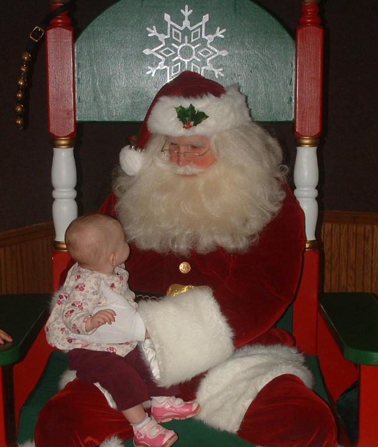 Rotary Santa House - 12/13/08 - 1