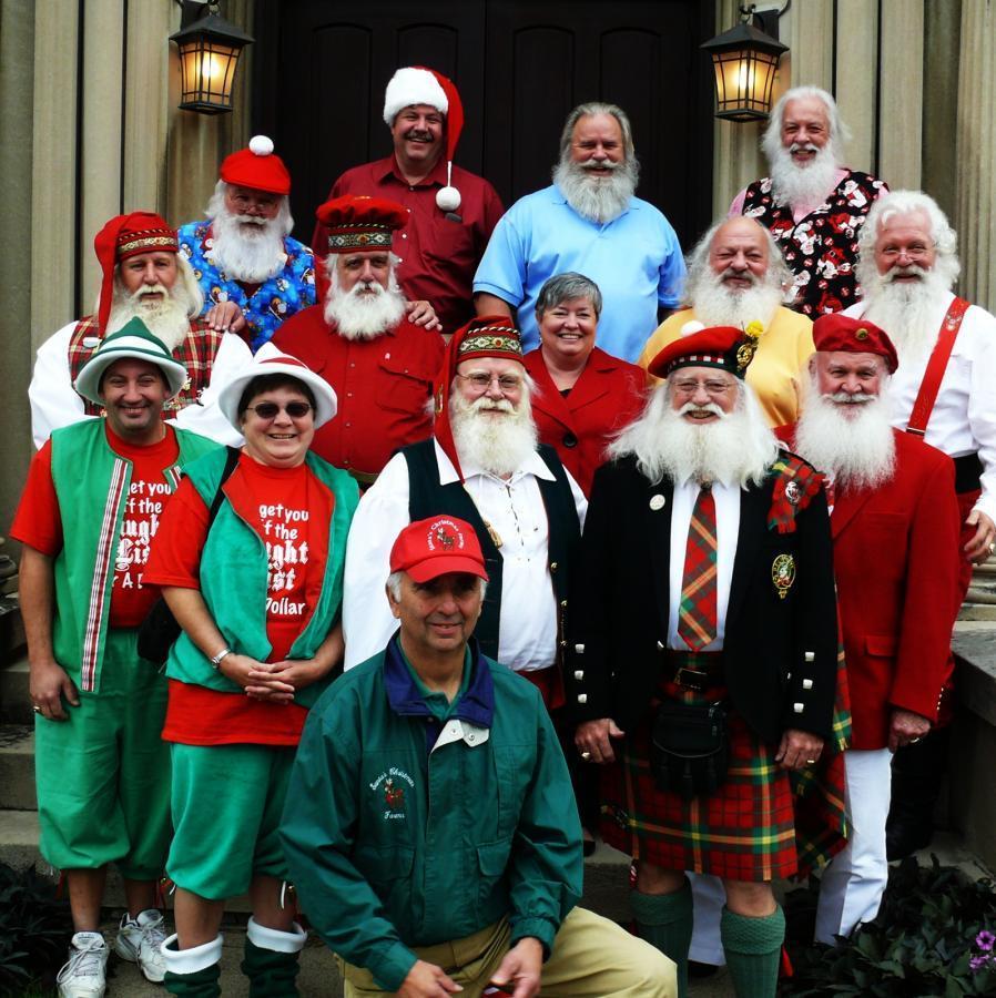 Santas and Helpers!