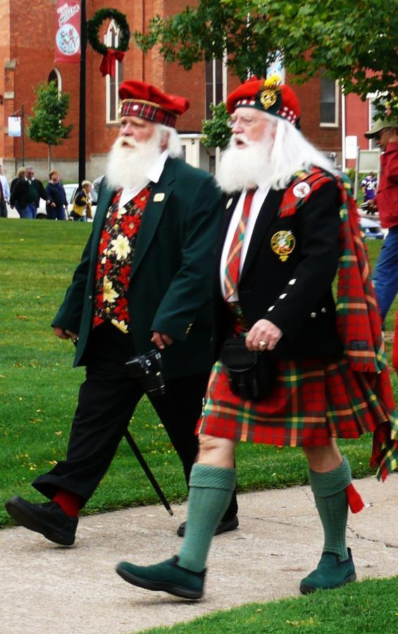 Santa's Mike and Wally