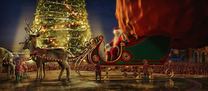 Polar Express - Santa's Sleigh