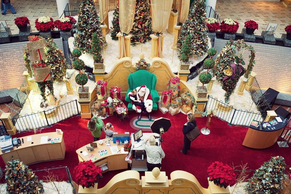Santa Claus Photo Set Collection