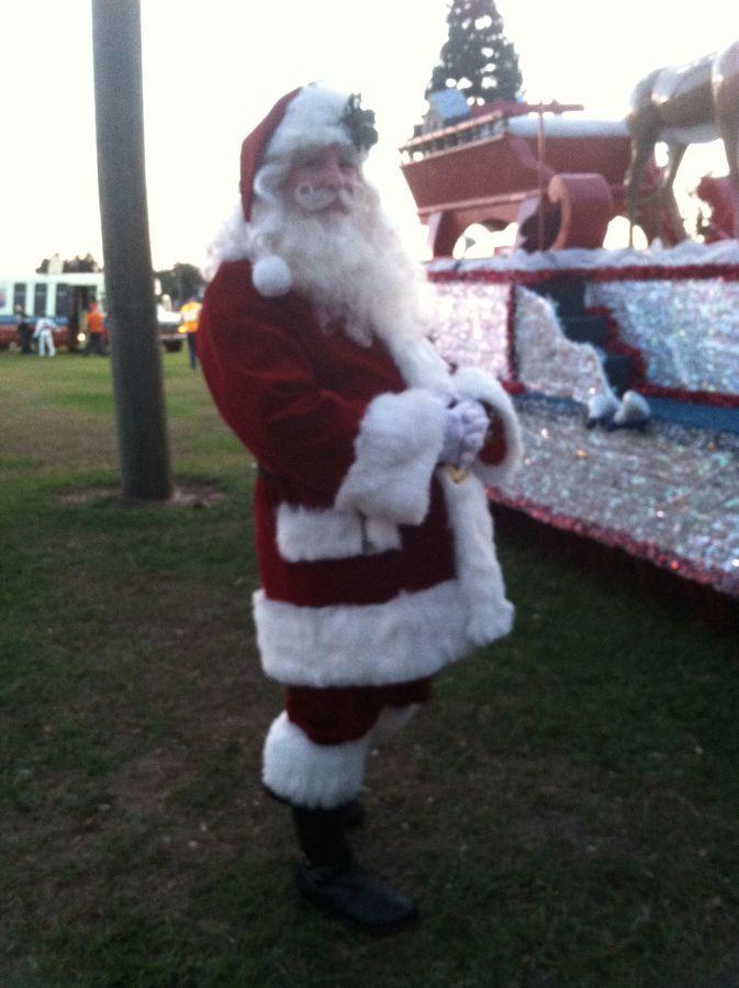 Before the Bartow Christmas parade